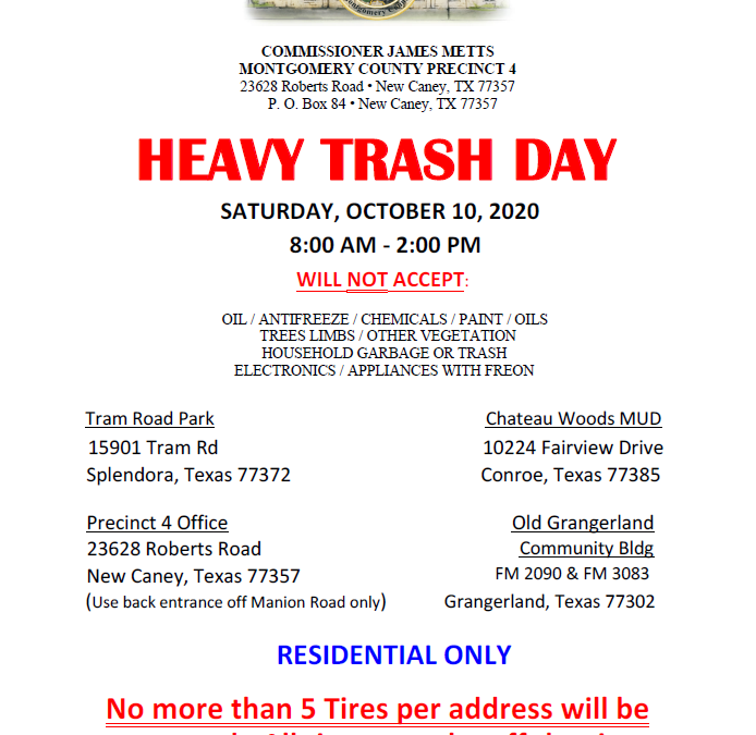 Heavy Trash Day